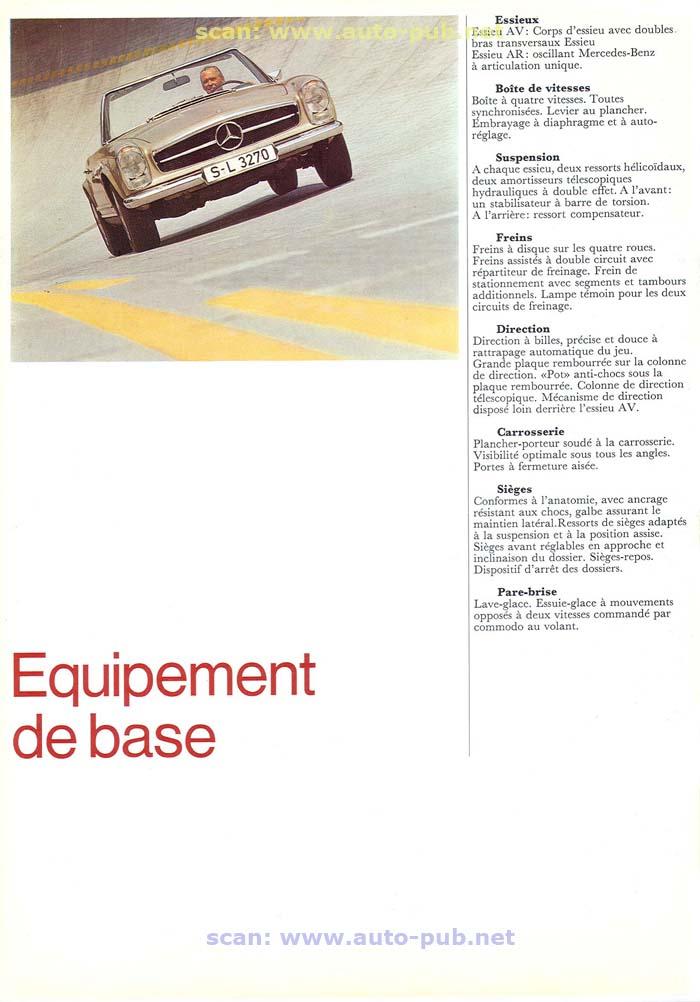 """La """"Pagode"""" 280 SL (W113 1967-1971)  Merc1753"""