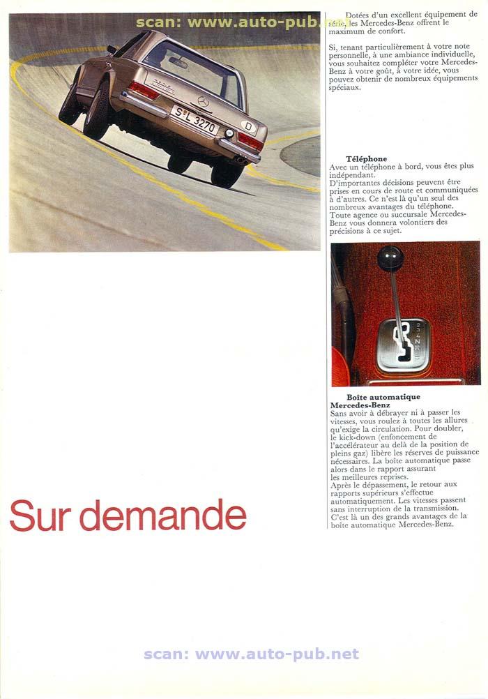 """La """"Pagode"""" 280 SL (W113 1967-1971)  Merc1756"""