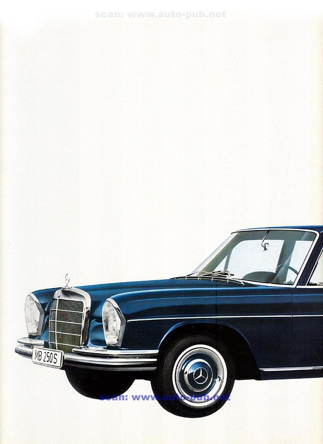 La Mercedes 250 S-SE / 280 S-SE / 300 SE (W108/W109) Berline   Merc1796