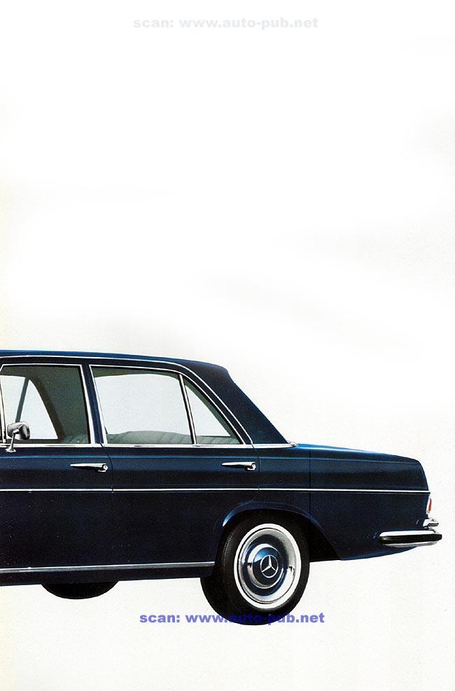 La Mercedes 250 S-SE / 280 S-SE / 300 SE (W108/W109) Berline   Merc1797