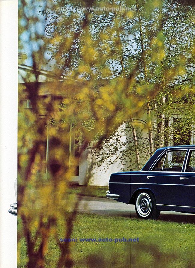 La Mercedes 250 S-SE / 280 S-SE / 300 SE (W108/W109) Berline   Merc1799