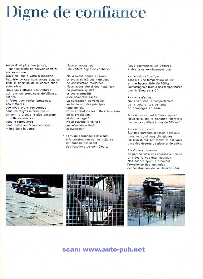 La Mercedes 250 S-SE / 280 S-SE / 300 SE (W108/W109) Berline   Merc1803