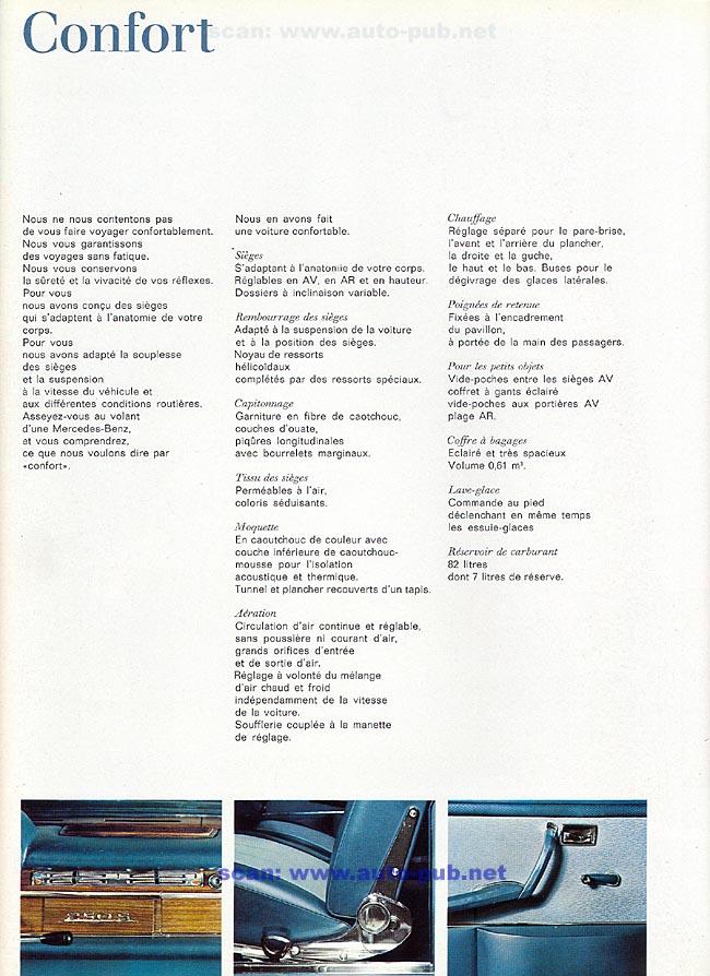 La Mercedes 250 S-SE / 280 S-SE / 300 SE (W108/W109) Berline   Merc1805