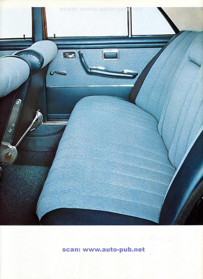 La Mercedes 250 S-SE / 280 S-SE / 300 SE (W108/W109) Berline   Merc1806
