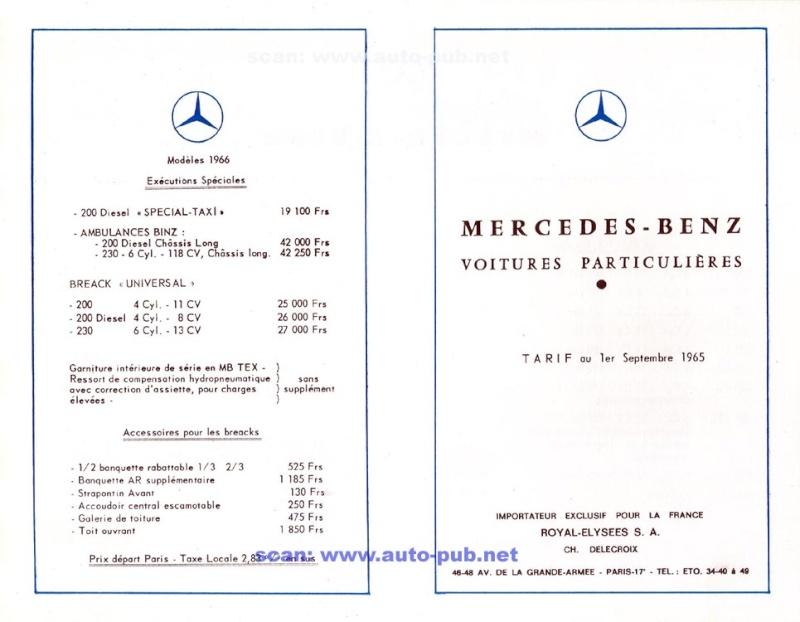 La Mercedes 250 S-SE / 280 S-SE / 300 SE (W108/W109) Berline   Merc1815