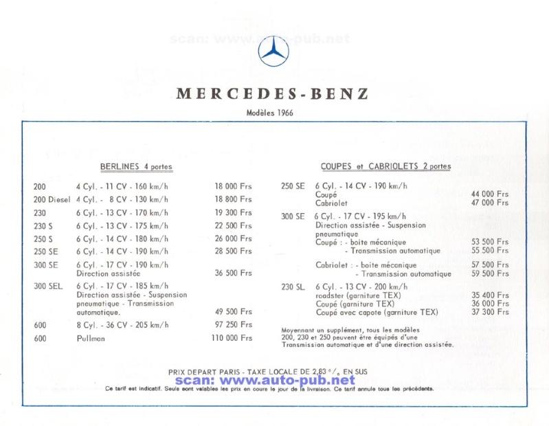 La Mercedes 250 S-SE / 280 S-SE / 300 SE (W108/W109) Berline   Merc1816