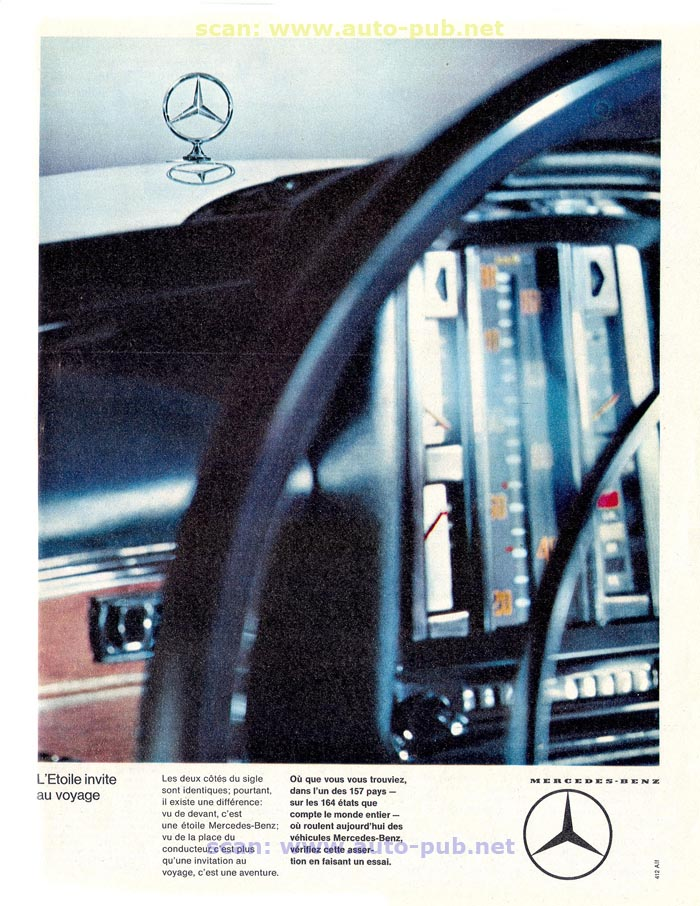 La Mercedes 250 S-SE / 280 S-SE / 300 SE (W108/W109) Berline   Merc1820