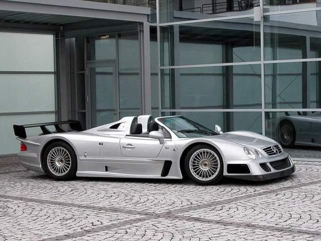 La Mercedes Benz CLK GTR 1998 Merc2074