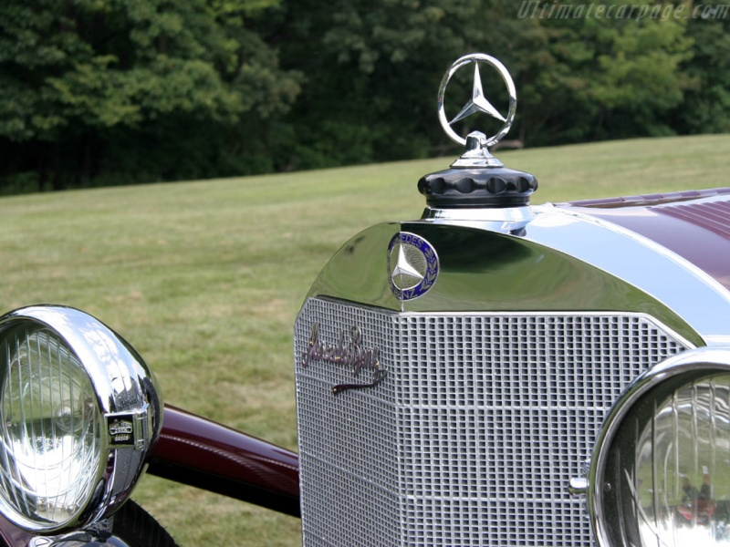 Mercedes SS SSK & SSKL (W06) 1928-1934 Merce689