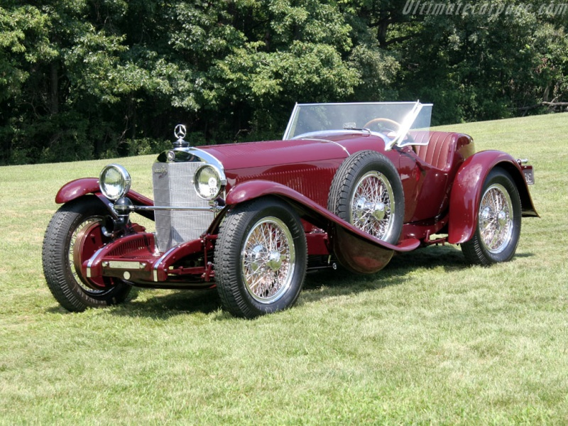 Mercedes SS SSK & SSKL (W06) 1928-1934 Merce690