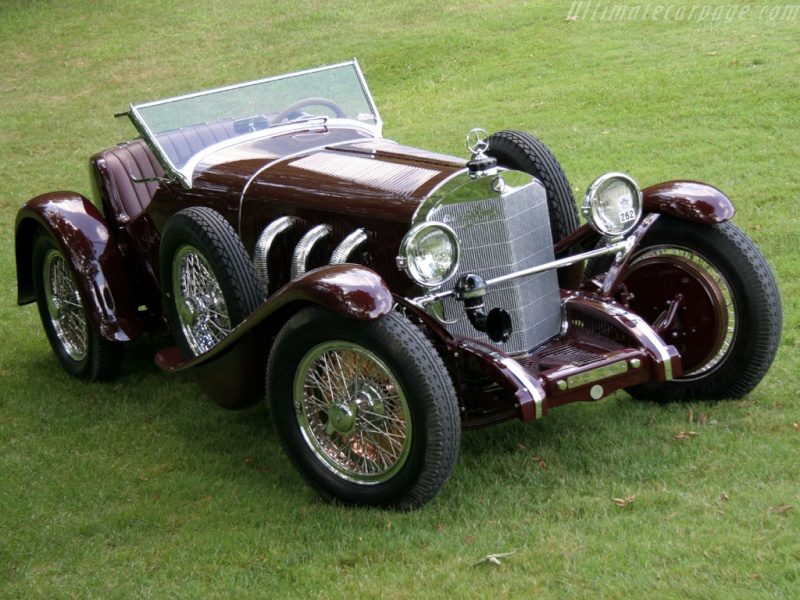 Mercedes SS SSK & SSKL (W06) 1928-1934 Merce693