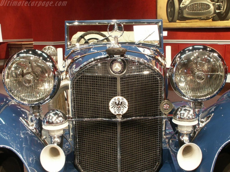 Mercedes SS SSK & SSKL (W06) 1928-1934 Merce695