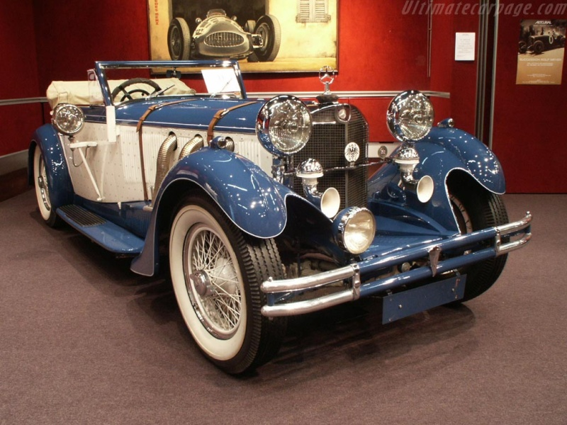 Mercedes SS SSK & SSKL (W06) 1928-1934 Merce696