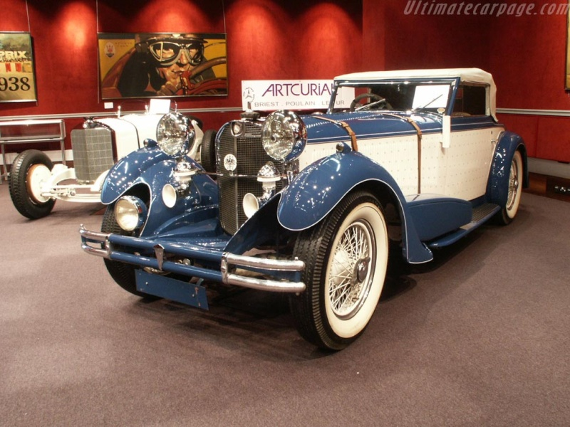 Mercedes SS SSK & SSKL (W06) 1928-1934 Merce697