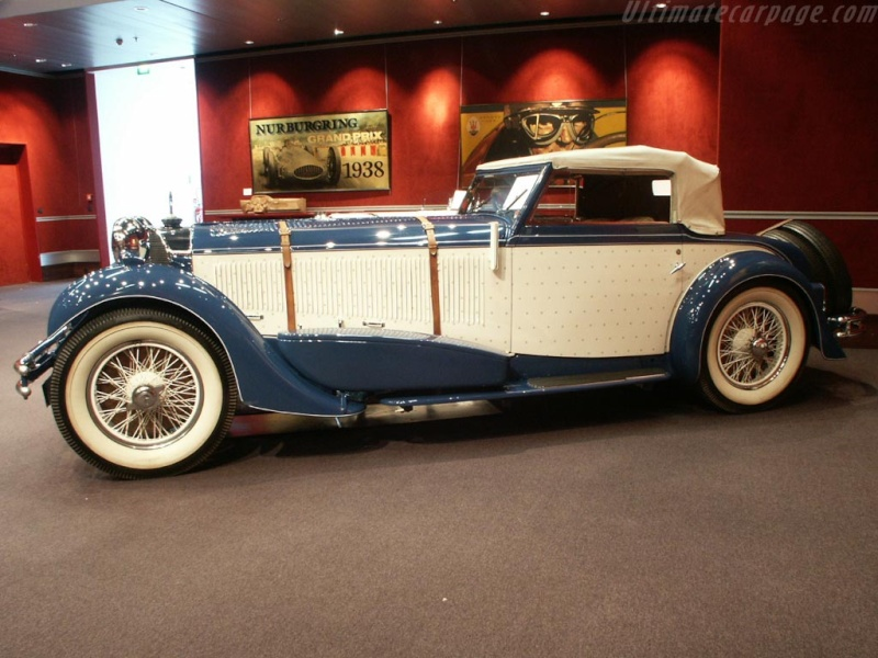Mercedes SS SSK & SSKL (W06) 1928-1934 Merce698