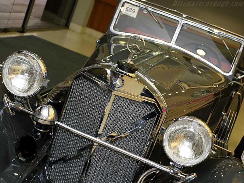 Mercedes SS SSK & SSKL (W06) 1928-1934 Merce702