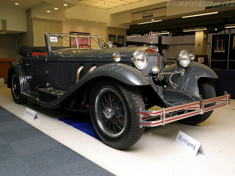Mercedes SS SSK & SSKL (W06) 1928-1934 Merce704