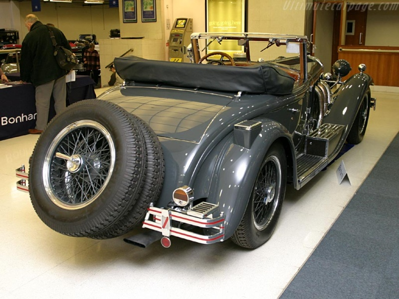 Mercedes SS SSK & SSKL (W06) 1928-1934 Merce705