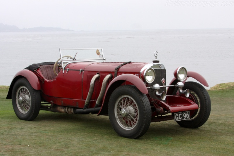 Mercedes SS SSK & SSKL (W06) 1928-1934 Merce709