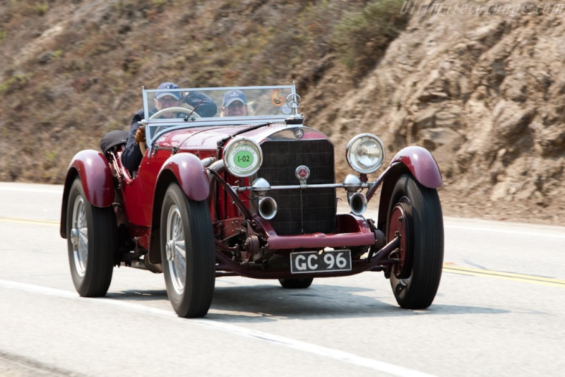 Mercedes SS SSK & SSKL (W06) 1928-1934 Merce710
