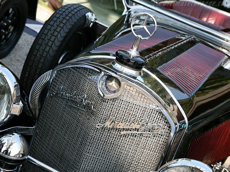 Mercedes SS SSK & SSKL (W06) 1928-1934 Merce714