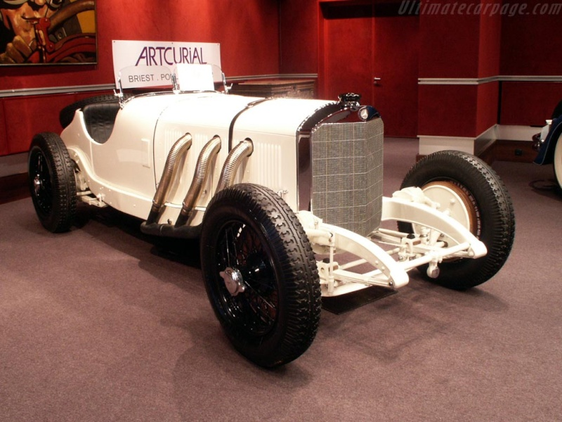 Mercedes SS SSK & SSKL (W06) 1928-1934 Merce722