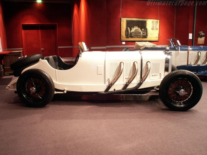 Mercedes SS SSK & SSKL (W06) 1928-1934 Merce723