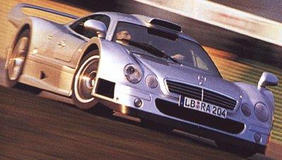La Mercedes Benz CLK GTR 1998 Merced13