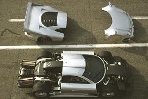 La Mercedes Benz CLK GTR 1998 Merced15