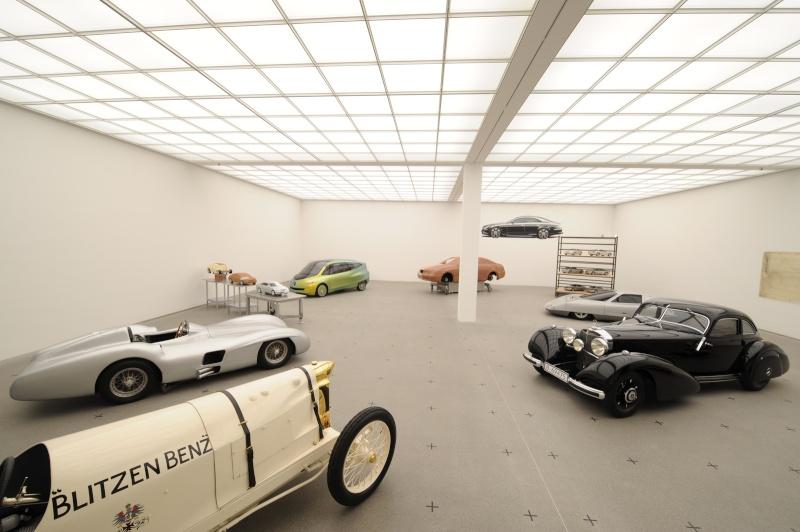 musée - [Photos] Le Mercedes-Benz Museum de Stuttgart Milest13