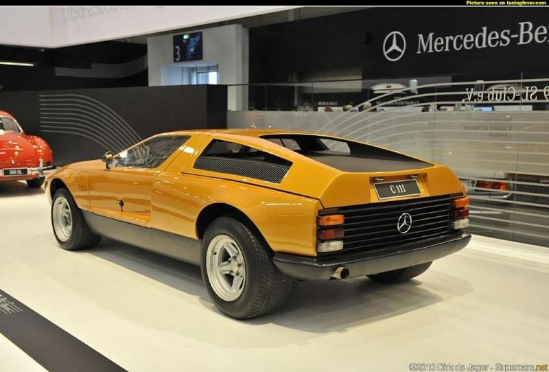 [Historique] Mercedes C 111 (1969-1979) Pics-m50
