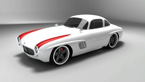 Les répliques de Mercedes Sls-me12