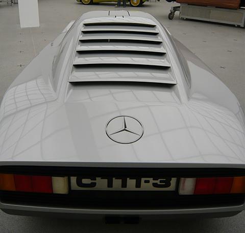 [Historique] Mercedes C 111 (1969-1979) V2804811
