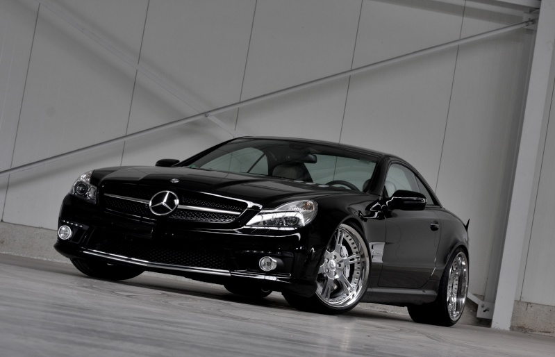 [Photos] Galerie : La Mercedes SL R230 Wheels12