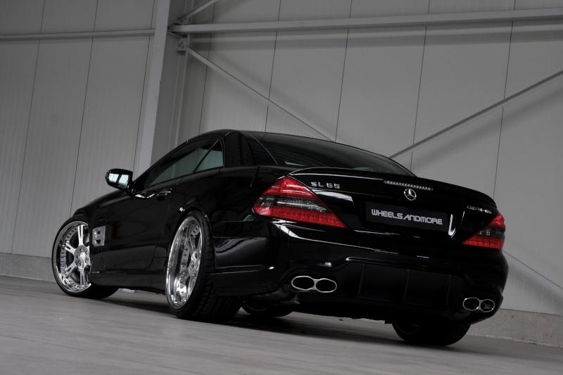 [Photos] Galerie : La Mercedes SL R230 Wheels13
