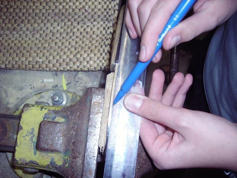 Personnalisation d'un couteau. Imgp4912