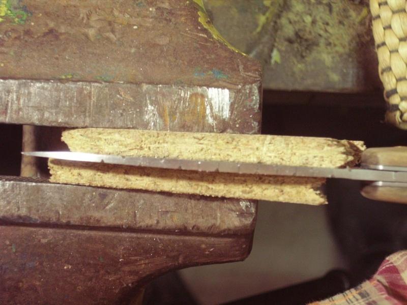 Personnalisation d'un couteau. Imgp4915