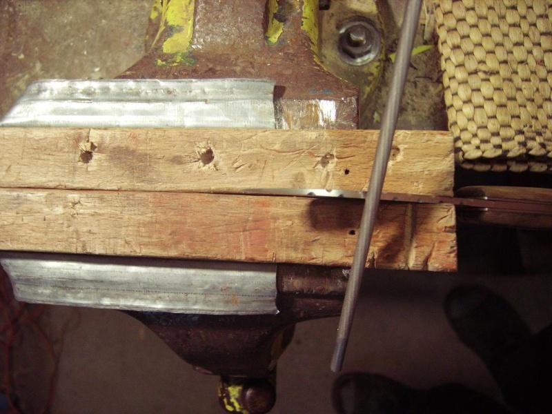 Personnalisation d'un couteau. Imgp4918