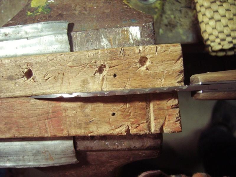 Personnalisation d'un couteau. Imgp5012