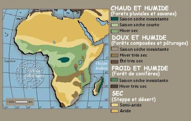Différences entre les climats africains et français Gr210
