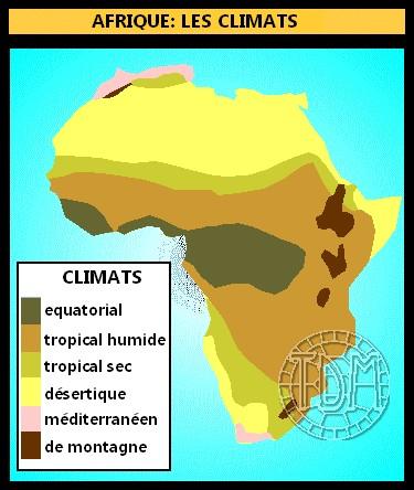 Différences entre les climats africains et français Gr310
