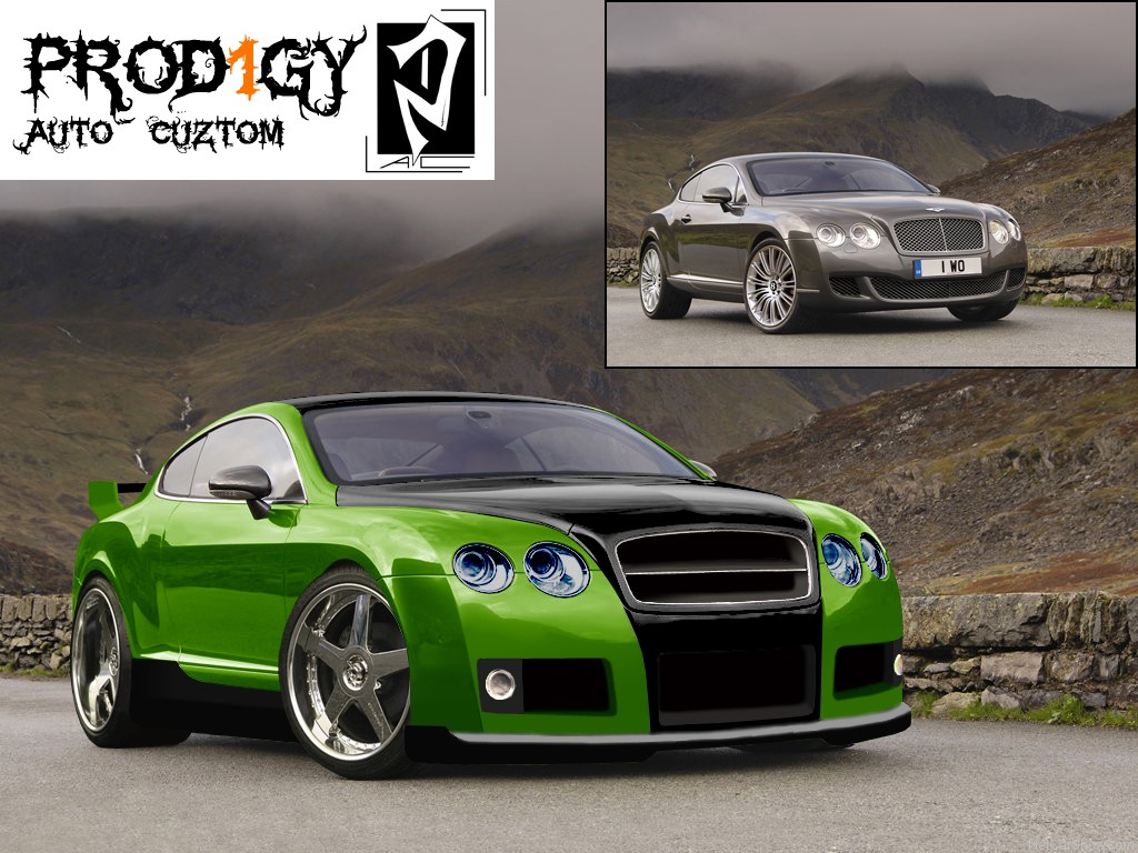 Bentley Continental GT Sport Street Tuning _edit010