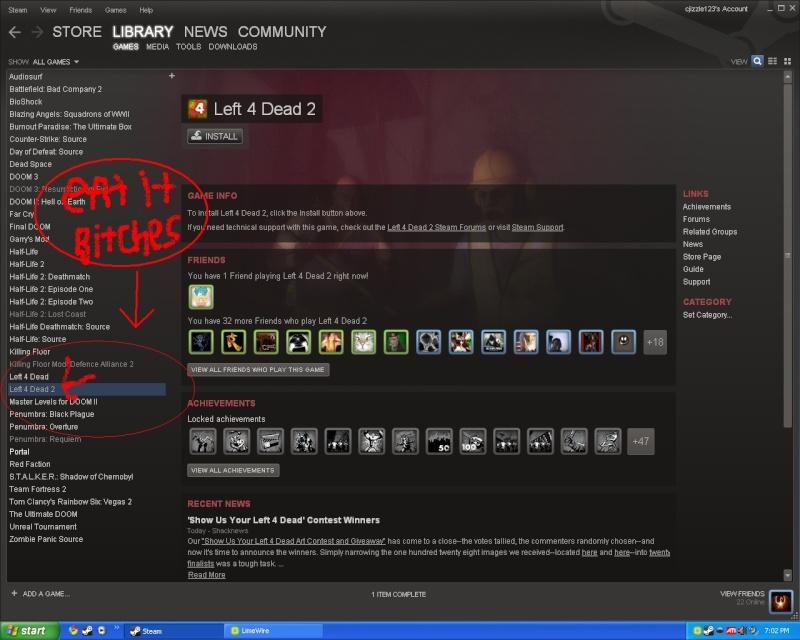 Cam0 NinjA | §YN | now owns Left 4 Dead 2. I_boug10