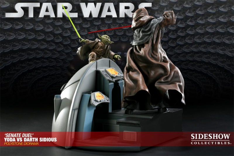 Sideshow - Senate Duel: Yoda vs. Darth Sidious 20001710