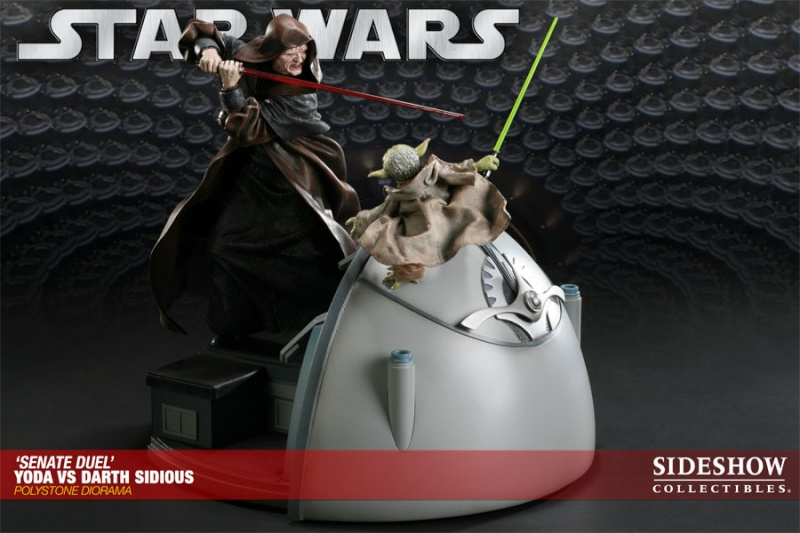 Sideshow - Senate Duel: Yoda vs. Darth Sidious 20001712