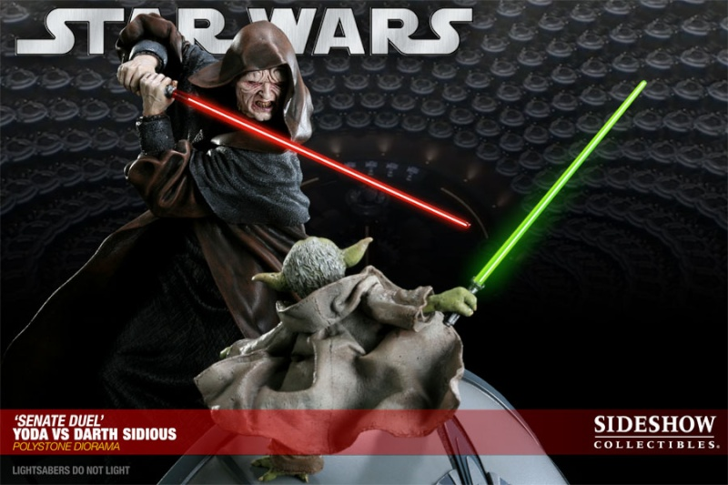 Sideshow - Senate Duel: Yoda vs. Darth Sidious 20001714