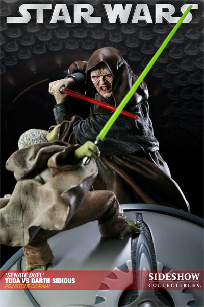 Sideshow - Senate Duel: Yoda vs. Darth Sidious 20001715