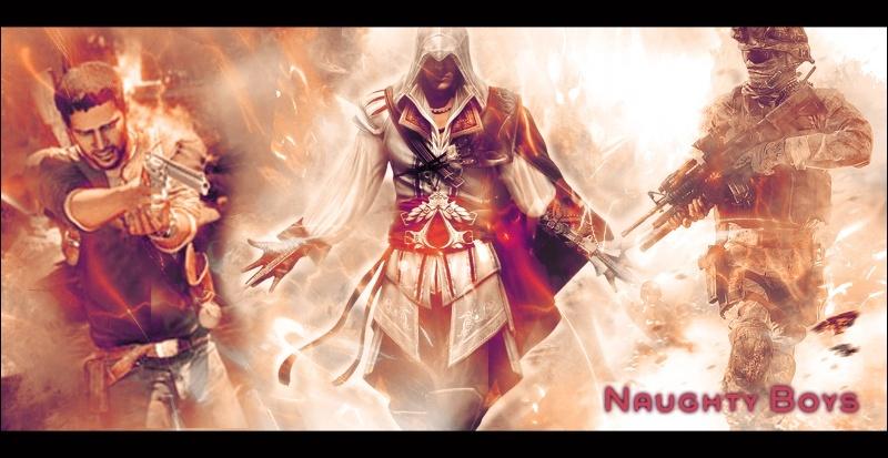 Uncharted II, COD6 et ACII : Les Naughty Boyz Forum Officiel