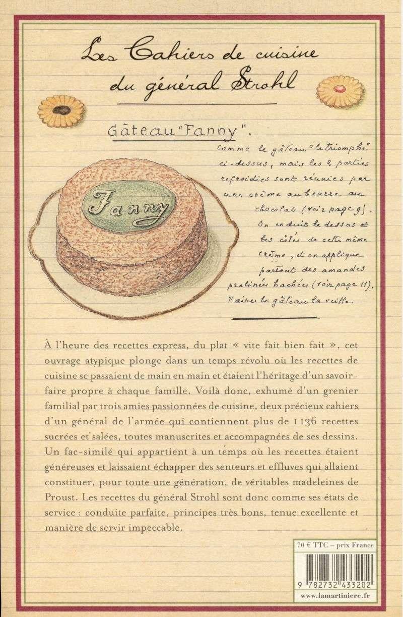 Les Cahiers de Cuisine du Général Strohl Image020
