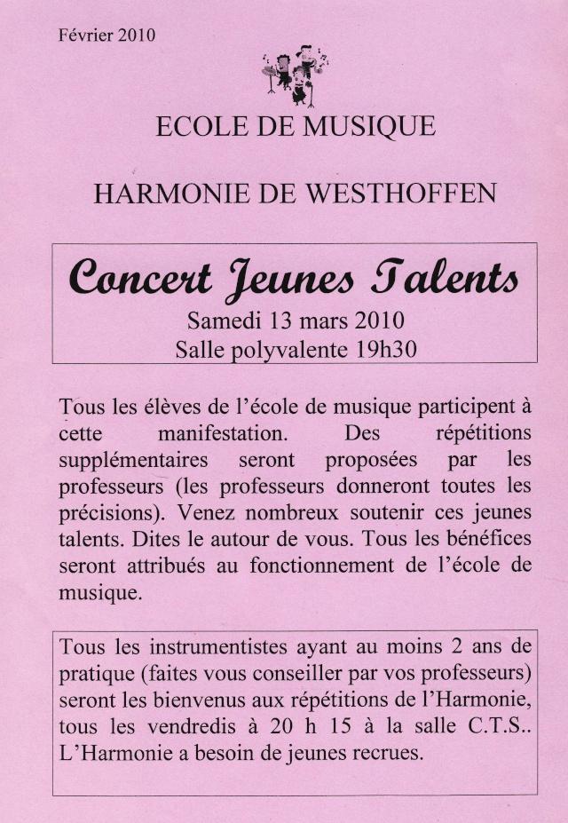 Concert Jeunes Talents à Westhoffen le 13 mars 2010 Image024